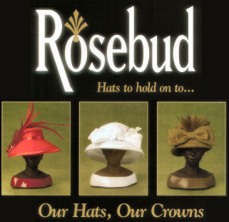 Christine S Closet Rosebud Hats Gifts Amp Collectibles